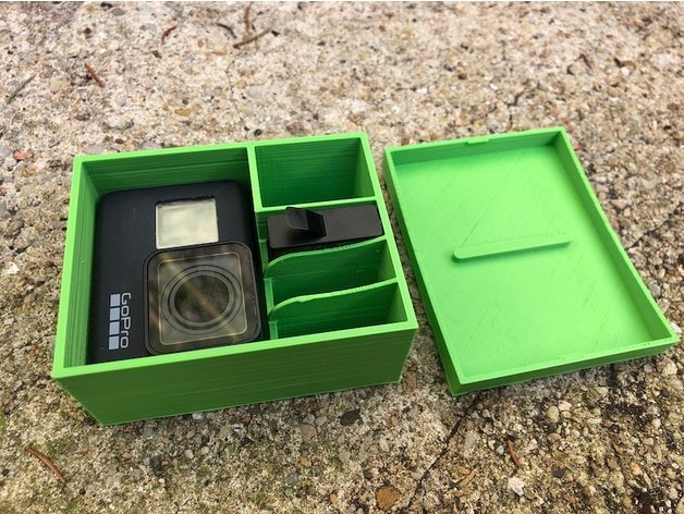 Gopro 7 storage box