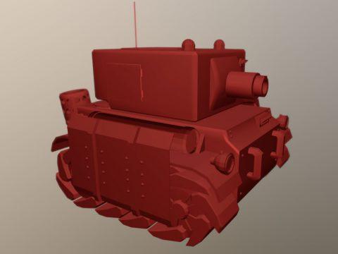 Tank Advance wars inspired