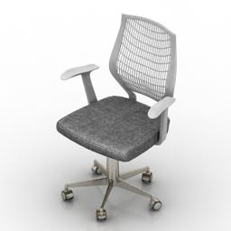 Armchair Mesh 3d model