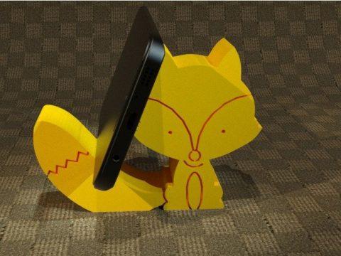 Baby Fox Cell Phone Holder