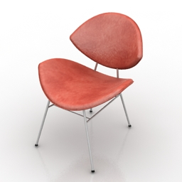 Chair Fishnet walterknoll 3d model