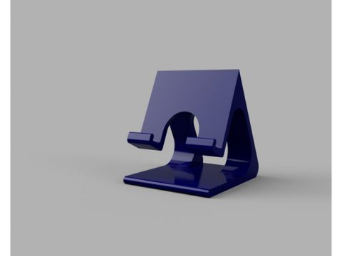 Customizable Phone Stand 3D model