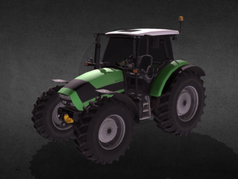 Deutz K420 3D model