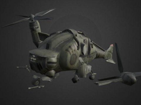 Fallout 3 - Crashed Vertibird