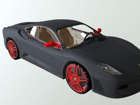 Ferrari 51 3D model