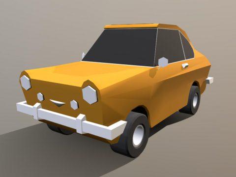 Fiat 850 Coupe 3D model