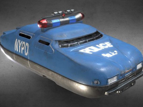 Fifth Element - Police flying car