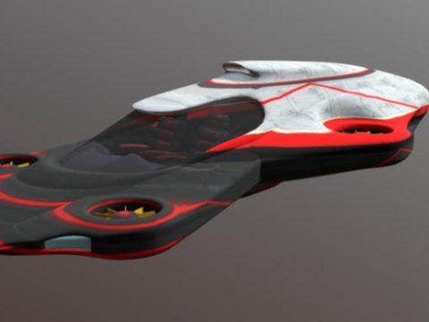 Flying Car 3D model