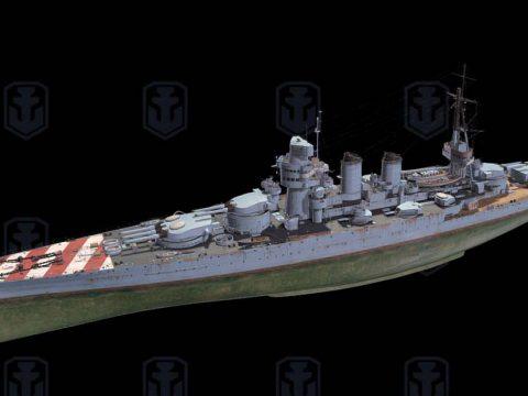 Giunio Bruto 3D ship model