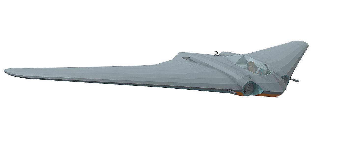 Horten Ho 229 | Free 3D models