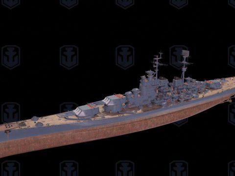 Kreml 3D ship model