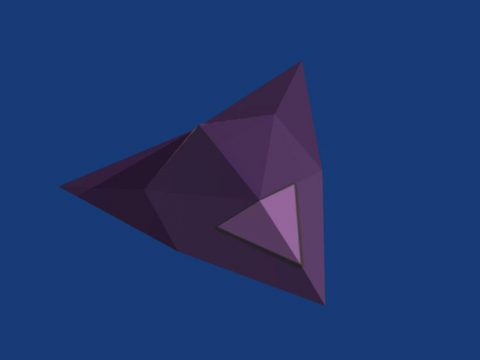 Low Poly Stealth Bomber