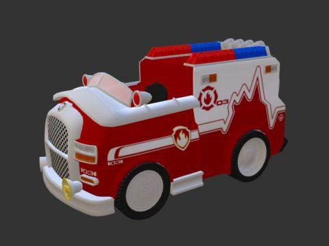 Marshall Medic Vehicle 3D model