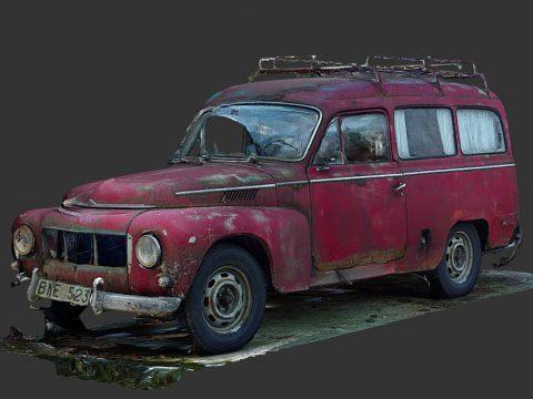 Old Wagon (Raw Scan)