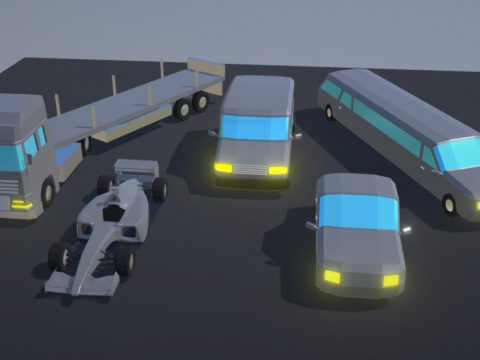 Simple Low Poly Cars Pack