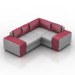 Sofa Lira dls 3d model