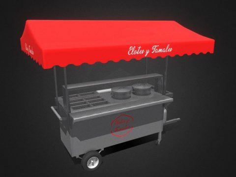 Street stall 3D model