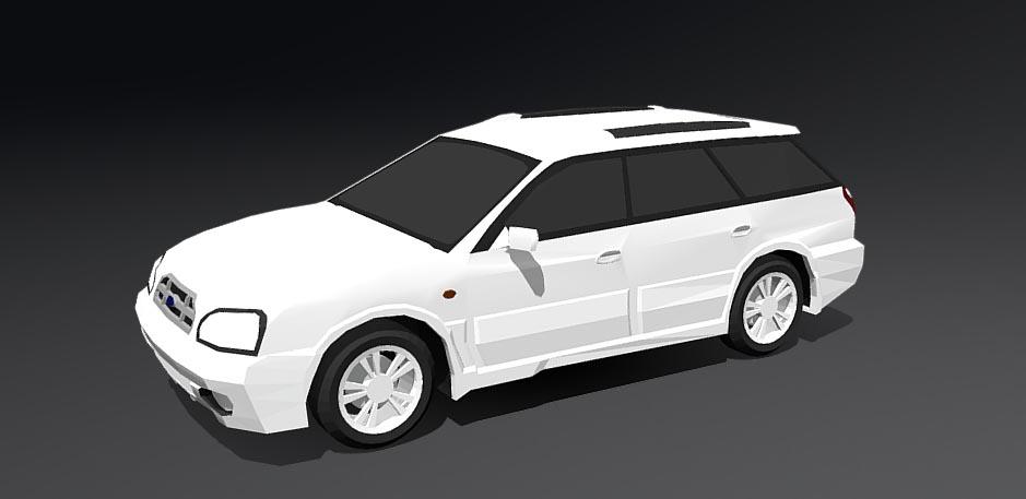Subaru Legacy Lancaster 3D model