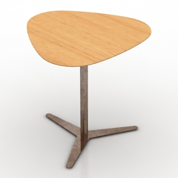 Table Clover 3d model
