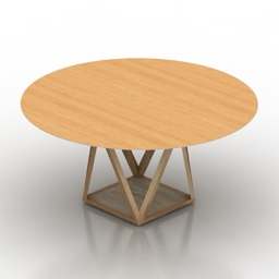 Table tobu walterknoll 3d model