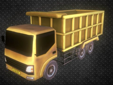 Truck Trash 3D model