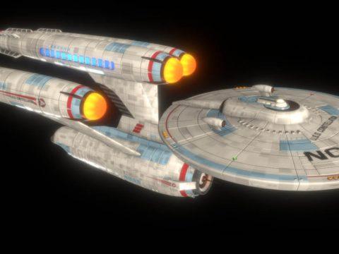USS Constellation Dreadnaught Refit