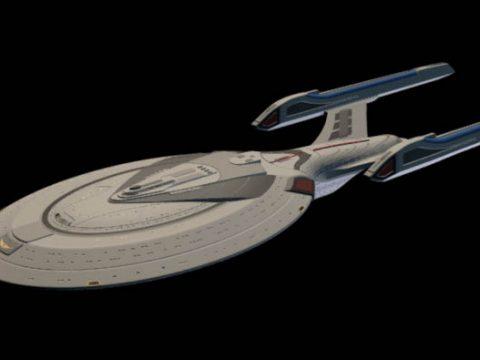 USS Enterprise E 3D model