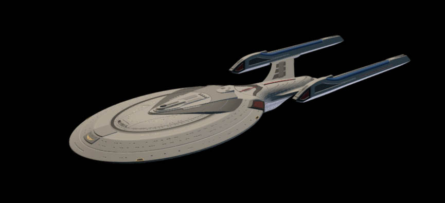 USS Enterprise E 3D model