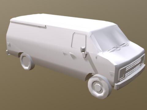 3D Van model