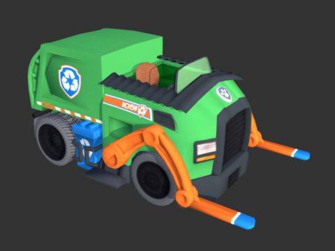 Vehicle Rocky 3D model