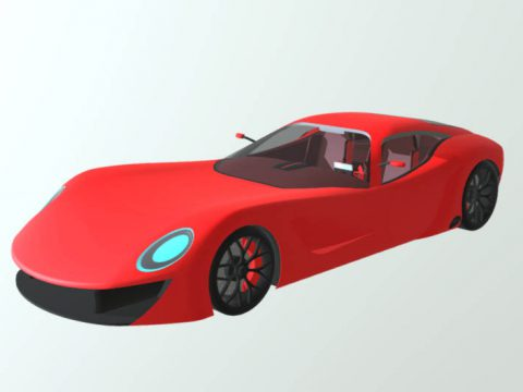 Xtraveloce GT MK II 3D model