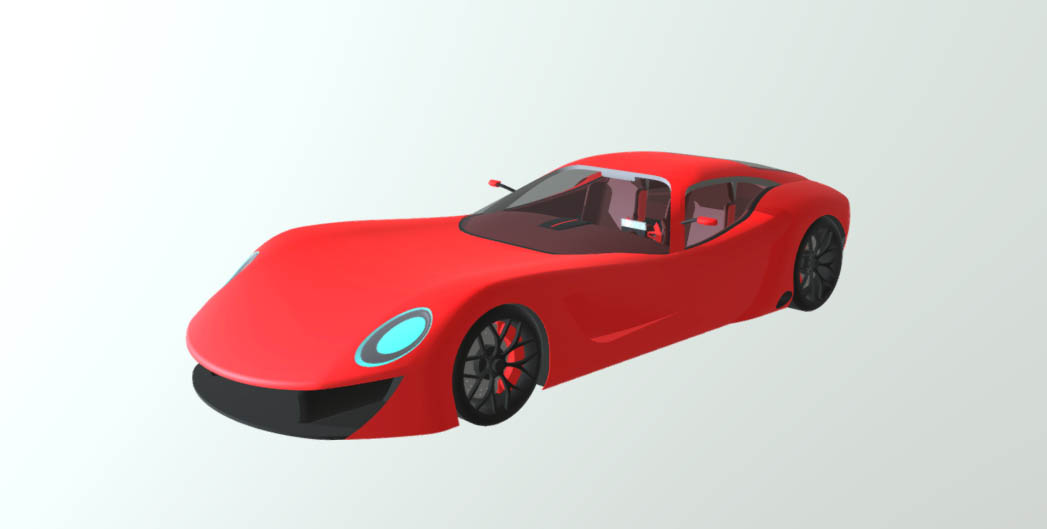 Xtraveloce GT MK II 3D model
