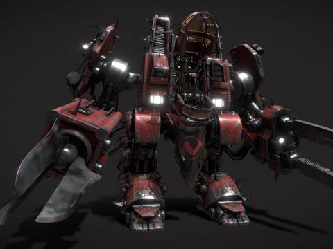 SCV 3d robot