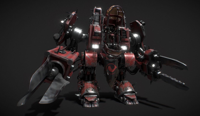 SCV | Free 3D models