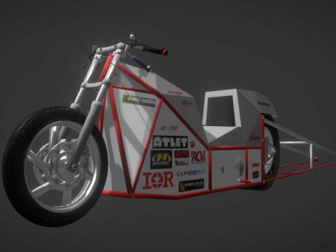 Electric Dragster Bike