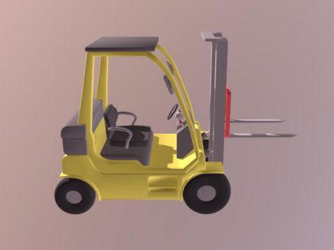 3D Forklift model
