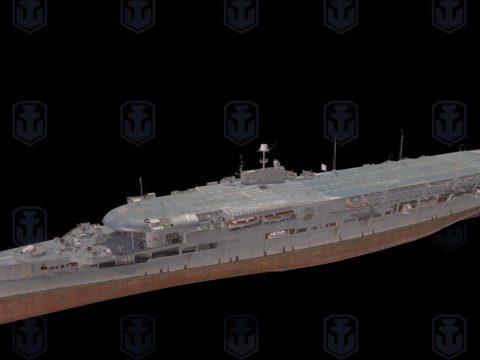 3D Furious ship model