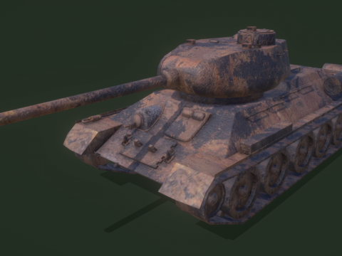 GTA V prop rub t34