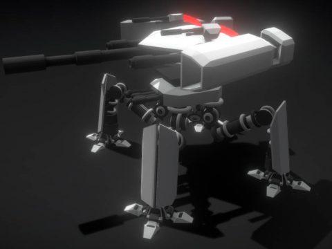 Harbringer Delta 3D model