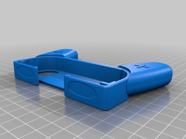 Joycon Switch Controller Holder with Shoulder Buttons Remix