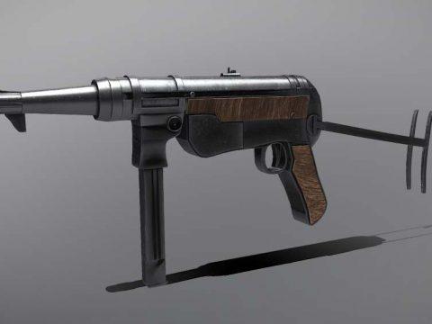 MP40 - ww2 German Army