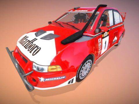 Mitsubishi Lancer Evo VI Rally