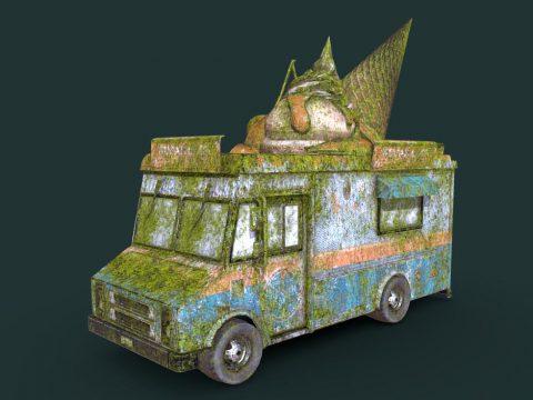 Mossy Old Ice Cream Truck