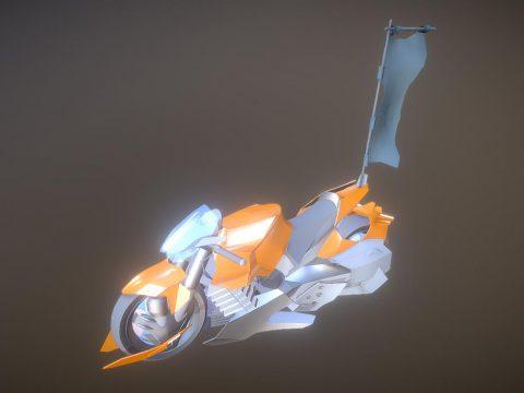 Nrz motorbike 3D model