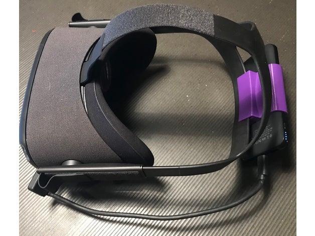 Oculus Quest External Battery Mount   Free 3D models