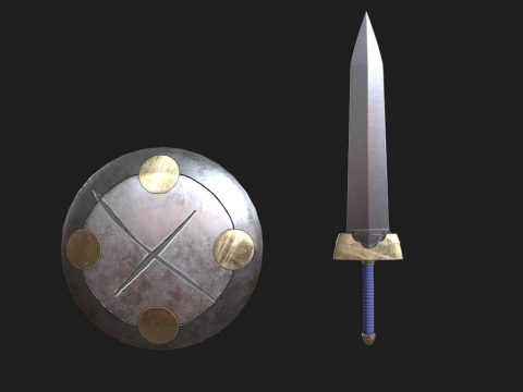Shortsword and Shield [Goblin Slayer]