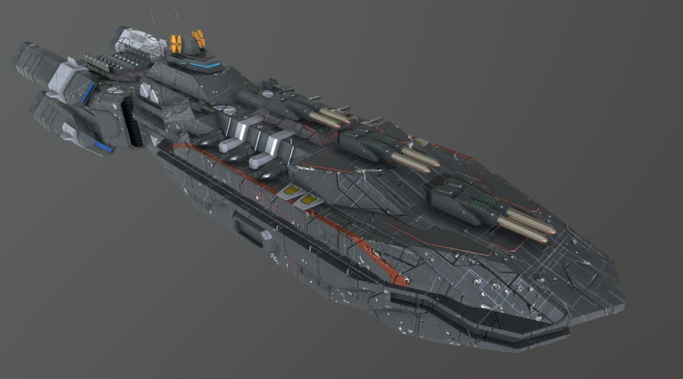Spaceship Downloadfree3d Com