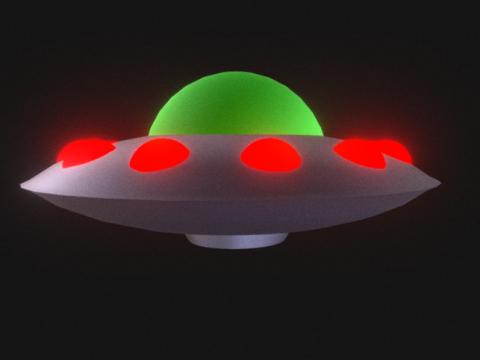 Spinning UFO