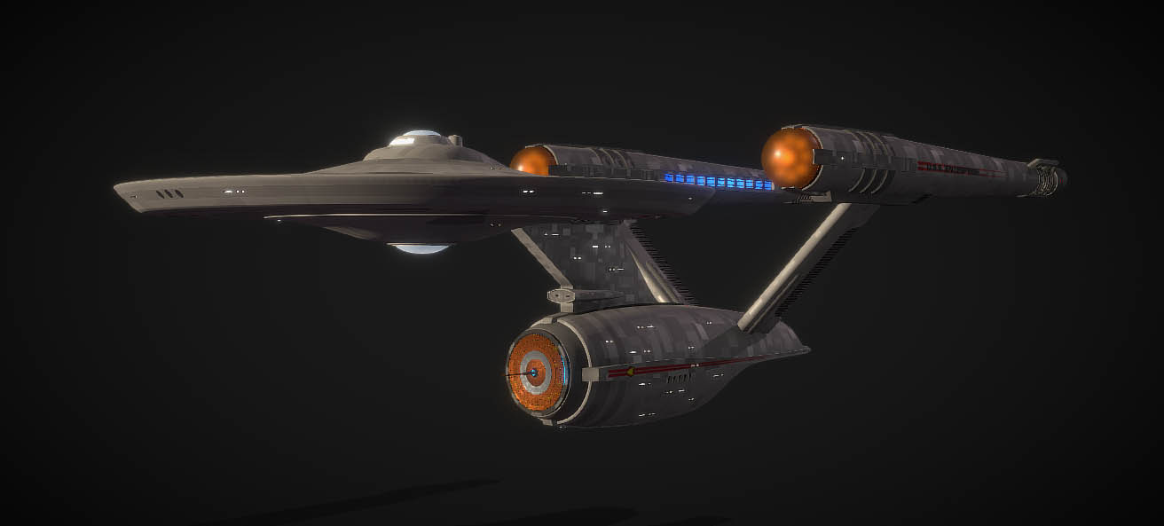 U.S.S. Enterprise V1 (ST Fan Design)