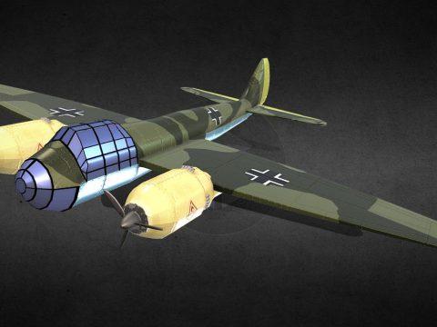 WW2 JU 88 Bomber